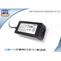 Quality 24W Desktop Switching Power Supply Black Color 15V With AC / DC Cable wholesale
