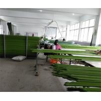 Quality Environment Friendly Garden Support Green PE Coated Steel Garden Stake wholesale