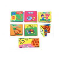 Quality Bedtime Toy Lenticular Printing Services Baby EVA Waterproof Bath Book wholesale