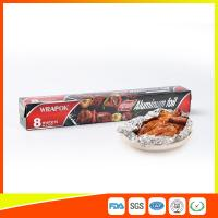 Quality Aluminium Paper Backed Foil For Food Packaging , Aluminum Wrapping Paper wholesale