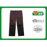 Detachable Quick Dry Pants For Men Brown / Black Color Available