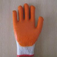 Quality 10G T/C shell latex coated working glove wholesale