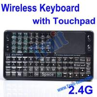 cheap mini wireless 2 4ghz rechargeable integrated keyboard with touchpad mouse ebo 013 of trait1. Black Bedroom Furniture Sets. Home Design Ideas