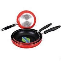 Quality aluminum non-stick fry pan with induction  bottom 18-32cm wholesale