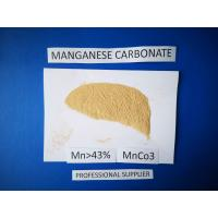 China Manganese Carbonate Chemical Raw Materials 43.5 % Purity Phosphorous Grade on sale
