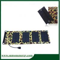 Quality 7w foldable solar panel kit, qualified portable solar panel charger for digital devices wholesale