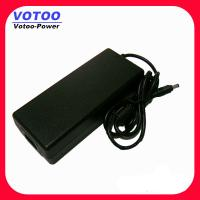 Cheap EU Plug 120w 12V 8A Laptop AC Power Adapter , AC / DC 100w Power Supply for sale