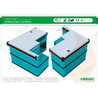Quality Shopping Mall Stainless Steel Countertop Checkout Cash Counter HBE-121 wholesale