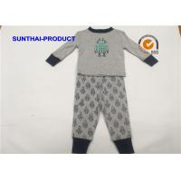 Quality Robot Screen Print Kids Clothing Sets , Color Customized Baby Boy Clothing Sets wholesale