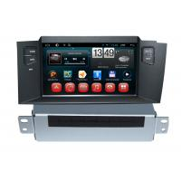 Quality Car Infor Citroen DVD Player C4L Android GPS Navigation with Rear view Camera wholesale