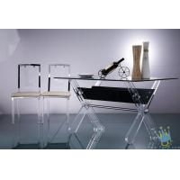 Quality acrylic pub table and chair wholesale