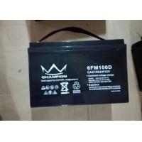 Quality Pure Gel Deep Cycle Lead Acid Battery 12 V 80Ah For Telecommunication wholesale