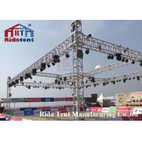 Buy cheap Line Array Stage LightTruss Systems 6082-T6 Aluminum Alloy High Hardness from wholesalers