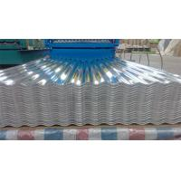 Quality Custom roofing Corrugated Aluminium Sheeting With Mill Finished Surface wholesale