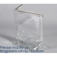 Quality PEVA Waterproof Transparent Clear TPU Toiletry Storage Cosmetic Makeup Toiletry Bag Pouch,bag makeup storage pouch wholesale