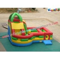Quality Waterproof Inflatable Bouncer Slide PVC Tarpaulin For Kids With Strong Handles wholesale