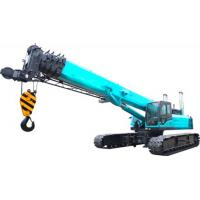Quality U Type High duty hydraulic mobile crane with smooth rotation , 11.2m Jib length wholesale