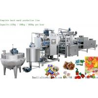 China YX-300 Full Automatic Hard Candy Production Line 300kg/H Time Saving For Food Industry on sale