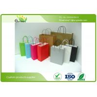 Quality Die Cutting Printed Paper Gift Bags , Kraft Personalized Paper Gift Bags  wholesale