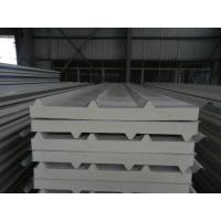 Quality Insulated pu foam sandwich panels , polyurethane building panels for steel structure plant wholesale