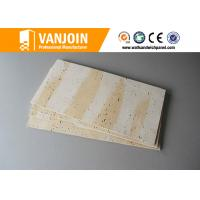 Cheap Weather Resistant Lightweight Precast Concrete Panels With Flexible Clay , Self - Cleaning for sale