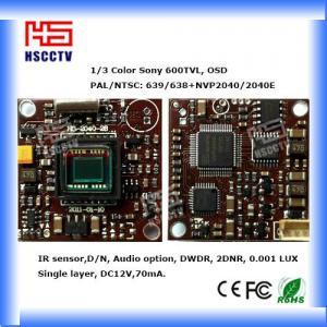China 600TVL Color Sony Nextchip board mini camera module, 28*28mm on sale