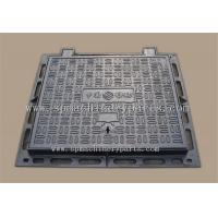 China Foundry Price Sand Casted OEM Triangular Grey Cast Iron Manhole Cover Price on sale