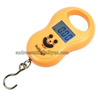 Quality ABS Plastic Hanging Gram Scale , Units Conversion Handheld Luggage Scale wholesale