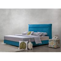 Quality Fabric Upholstered Headboard Bed SOHO Apartment Bedroom interior fitout Leisure Furniture wholesale