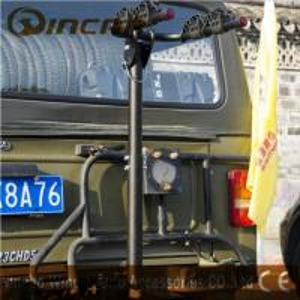 Quality 2 Bike Ball Mounted Car Rear Bike Carrier Rack Rear Trunk Iron wholesale