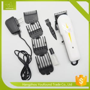 China JW-3038 OEM Hair Cutting Machine Cordless Magic Clip Hair Clipper Professional Men Hair Trimmer on sale