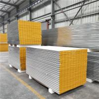 Quality 50mm greywhite mgo sandwich panels with 11 wind resistance for clear room wholesale