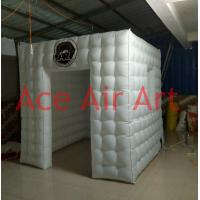 Cheap Ace Air Art 2.4m x2.4m x2.4m led lighting portable inflatable photo booth with for sale