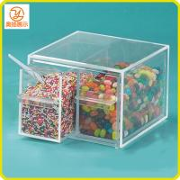 Buy cheap customized clear acrylic candy display case/acrylic food storage box product