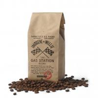 Quality Custom Printed Stand Up Kraft Paper Coffee Beans Bag wholesale