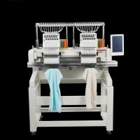 Quality High Precision Computerized Double Head Embroidery Machine With 15 Needles wholesale