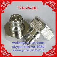 Buy cheap DIN 7/16 adaptor All brass DIN 7/16 male to N female adaptor manufacturer in China from wholesalers
