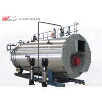 China High Efficiency Natural Gas Steam Boiler Strong Structural Strength For Cooking on sale