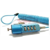 China Coil Cable Digital Lock GYM Locker Code Lock High Tension For Laptop on sale