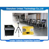 Quality Indoor Moveable Mobile Vehicle Inspection System UVSS Linear Scan CCD OEM / ODM Available wholesale
