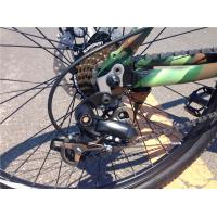 """Cheap Tianjin factory high grade camouflage 26"""" aluminium alloy MTB OEM with magnesium alloy one wheel for sale"""