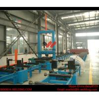 Quality Automatic H Beam Assembly Machine With Two Sets Of Co2 Tack Welding 2000mm Web Height wholesale