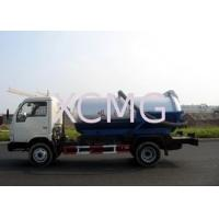 Quality Self-Flow Emission Special Purpose Vehicles , Septic Pump Truck For Transporting Feces & Sludge & Screes wholesale