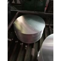 Quality Corrosion Resistant Blank Metal Disc , Round Aluminum Plate For Pans Cookwares wholesale