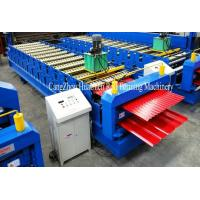 Quality Corrugated IBR Sheet Roll Forming Machine Precision Within 1.00mm wholesale