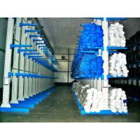 Quality Long Span Cantilever Storage Racks , Single / Double Sided High Density Racking System wholesale