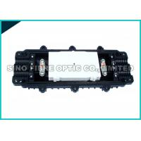 Quality Horizontal Optical Fiber Cable Joint Closure / 4 Trays Fibre Optic Junction Box wholesale