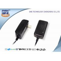 Quality EN60065 AV Wall Mount Power Adapter 5V 4A , AC DC Switching power adapter wholesale