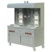 Quality Cabinet Type 6-burners Commercial Gas Kebab Shawarma Grill for Restaurant wholesale