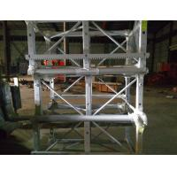 Cheap Single Cage Industrial Material Hoist for 12- 24 Passenger or 750kg Heavy for sale